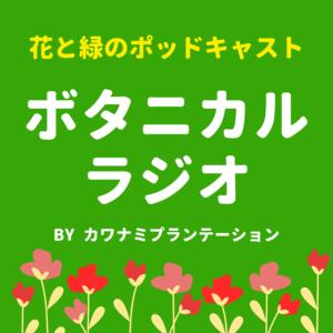ボタニカルラジオpodcast園芸